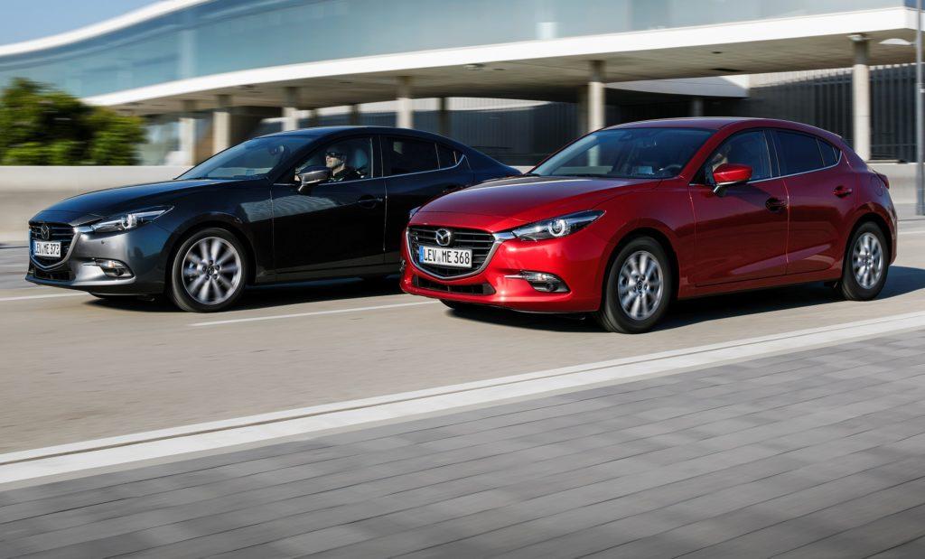 Mazda3 MY 2017, annunciati i prezzi per l'Italia: il listino parte da 20.400 euro