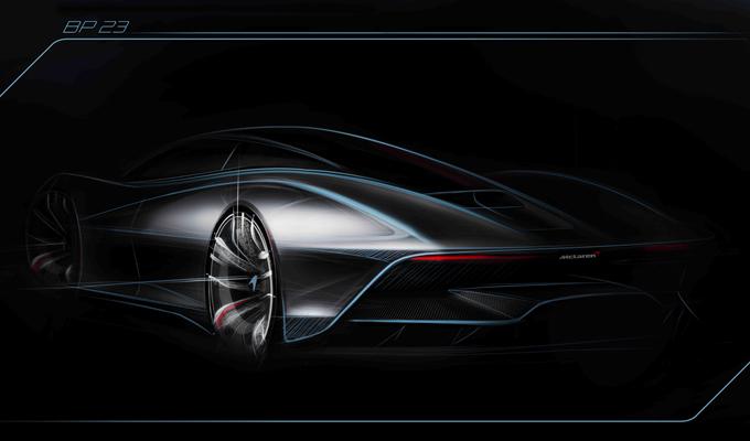 """McLaren """"Hyper-GT"""": nuova anticipazione sull'avveniristica supersportiva britannica [SKETCH]"""