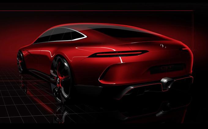 Mercedes AMG GT Concept: la sportiva a quattro porte attesa per Ginevra 2017 [TEASER]