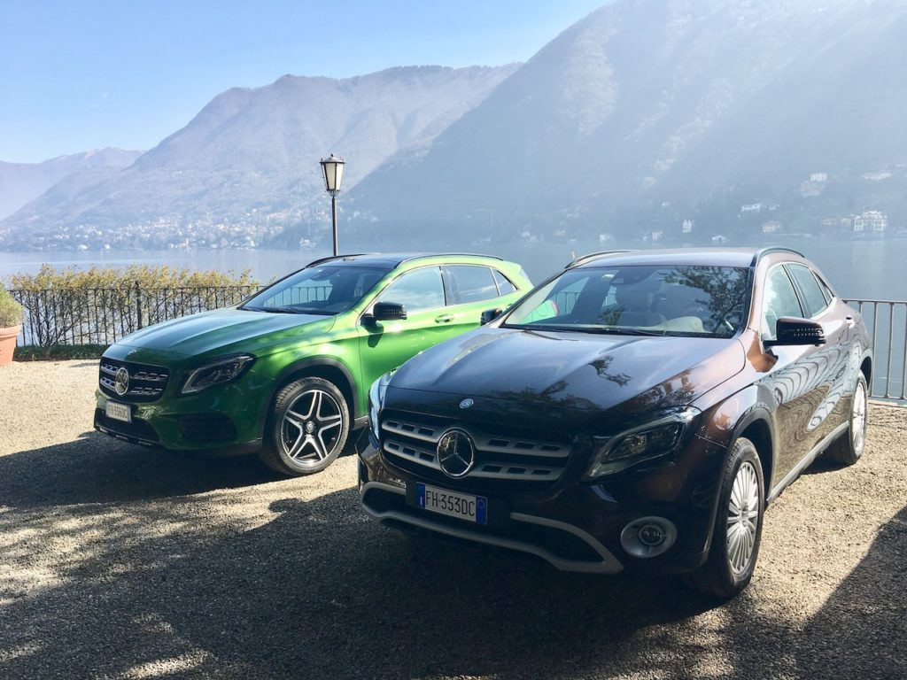 Nuovo Mercedes-Benz GLA MY2017: Assetto rialzato e spirito off-road