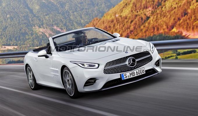 Mercedes-Benz SL MY 2018: immaginata la prossima generazione [RENDERING]