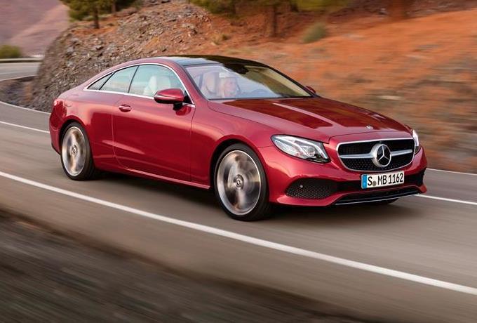 Nuova Mercedes Classe E Coupe