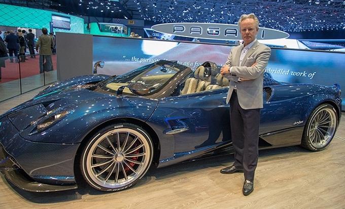 Pneumatici Pirelli, Horacio Pagani ne esalta le qualità che trovano posto sulla Huayra Roadster [VIDEO]