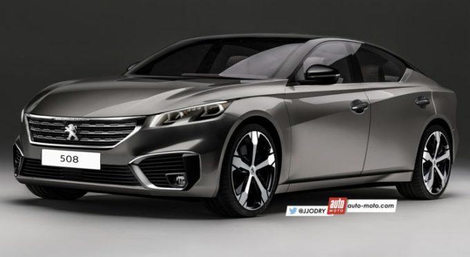 Nuova Peugeot 508, il design sarà influenzato dalla Instinct Concept [RENDERING]