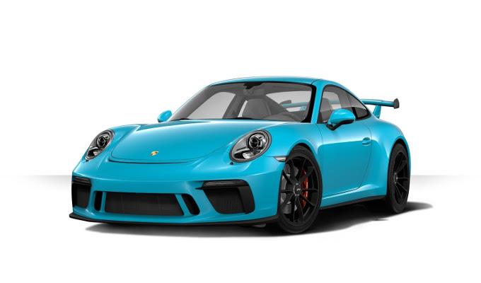 Porsche 911 GT3 MY 2018: ora è anche possibile configurarla