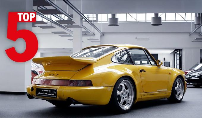 Porsche Exclusive mostra le sue 5 migliori creazioni: l'ultima prevista per quest'anno [VIDEO]