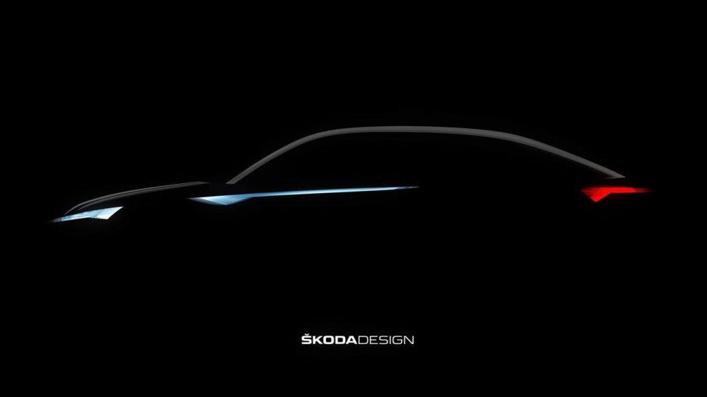 Skoda Vision E, nuova concept in arrivo [TEASER]