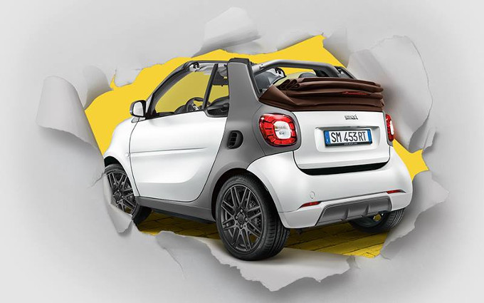 Smart Fortwo Cabrio Suitebrown Limited Edition: tocco di stile a cielo aperto