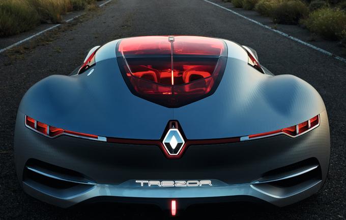 """Renault Trezor: designata """"Concept Car dell'Anno 2016"""""""