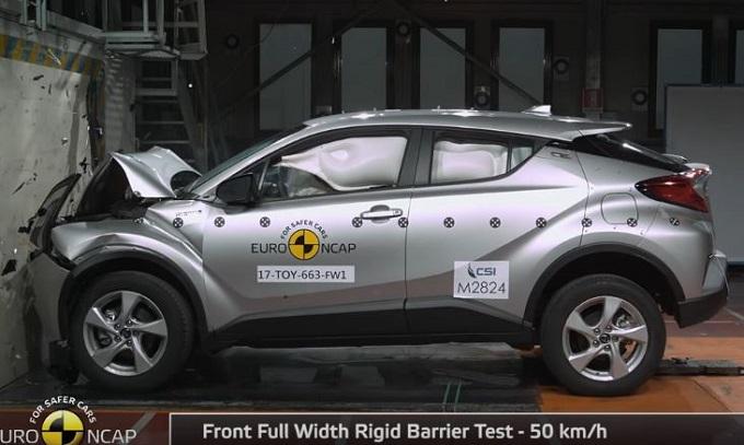 Toyota C-HR ottiene le cinque stelle Euro NCAP [VIDEO]