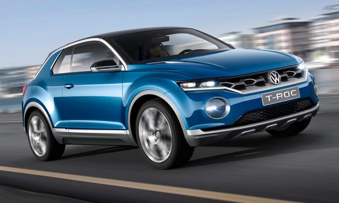 """Volkswagen T-ROC: la """"Golf-SUV"""" sarà presto realtà"""