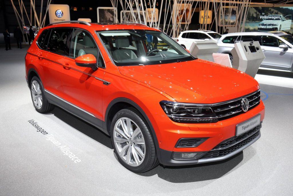 Salone di Ginevra 2017: Volkswagen Tiguan Allspace, il nuovo SUV 7 posti [VIDEO LIVE]