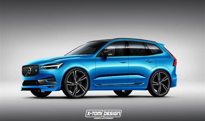 Nuova Volvo XC60: probabile versione Polestar all'orizzonte [RENDERING]