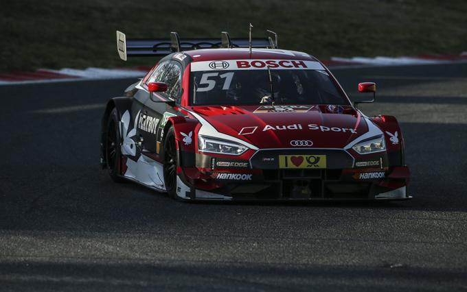 Audi RS 5 DTM: primi passi a Vallelunga per la versione aggiornata