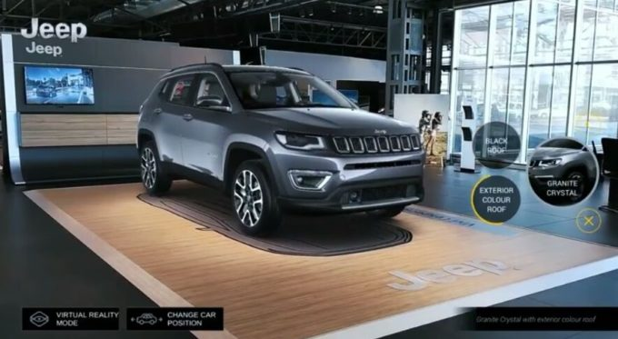 Nuova Jeep Compass: si potrà vedere in anteprima negli showroom grazie alla realtà aumentata [VIDEO]