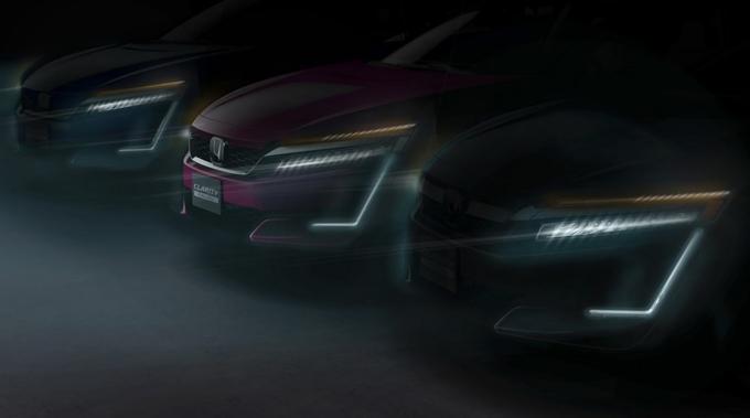Honda Clarity: l'ibrida plug-in e l'elettrica debutteranno al Salone di New York [TEASER]