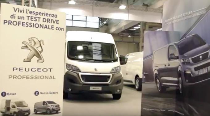 Peugeot al Transpotec 2017 [VIDEO]