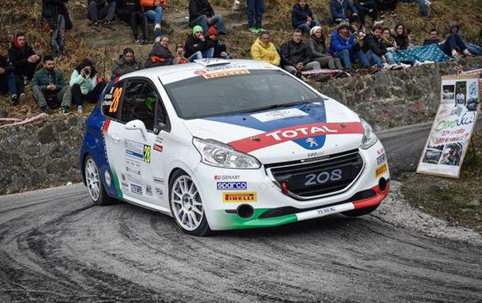 Peugeot Competition 208 Top: il via dal Rallye di Sanremo