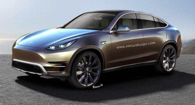 Tesla Model Y: un crossover compatto potrebbe essere il quarto modello della gamma [RENDER]