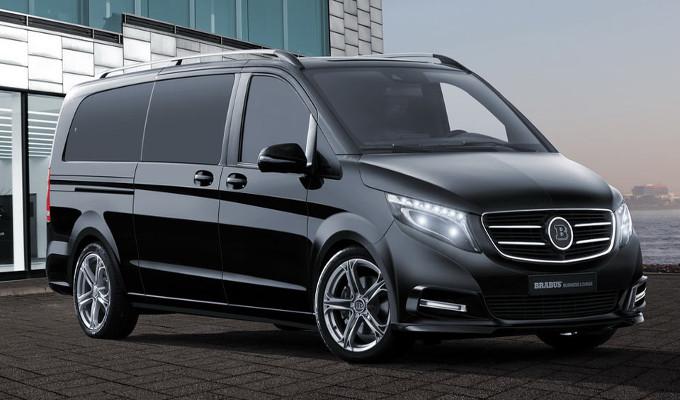 Brabus Classe V: come una limousine ma più spaziosa e tecnologica [FOTO]