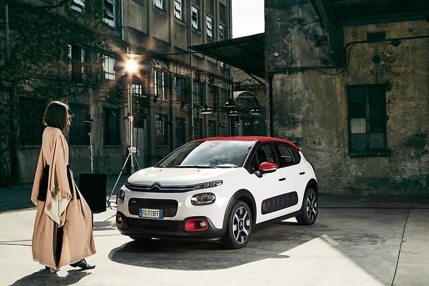 Citroën C3: è una fotografa di moda grazie alla ConnectedCAM