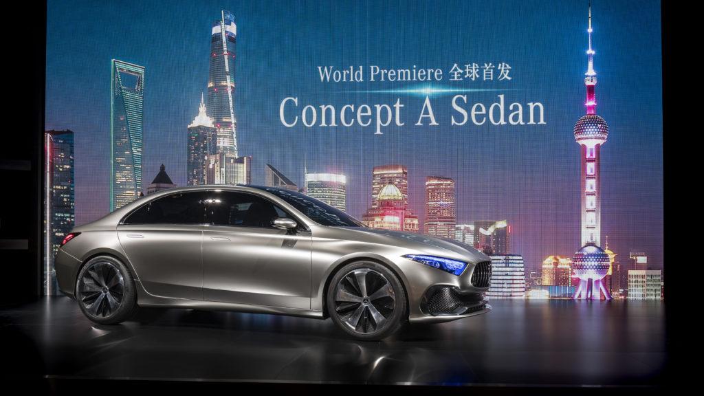 Mercedes Concept A Sedan: ecco il trailer che mostra la nuova nata [VIDEO]