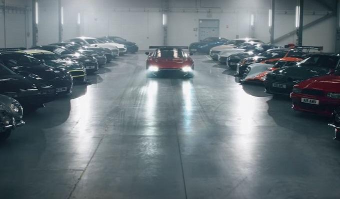 Aston Martin, un misterioso VIDEO TEASER annuncia novità in arrivo