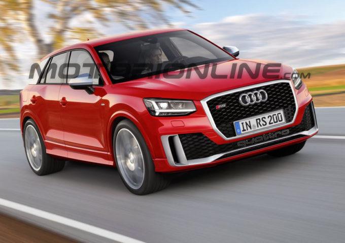 Audi Q2 RS: c'è spazio per la vocazione più sportiva del SUV compatto? [RENDERING]