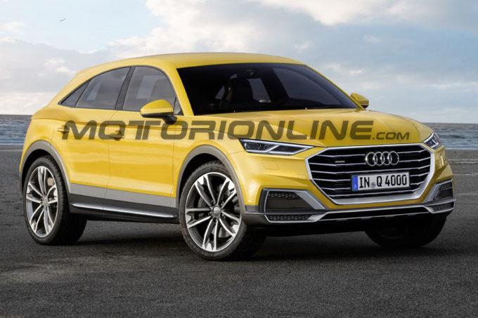 Audi Q4: il look del nuovo SUV immaginato così [RENDERING]