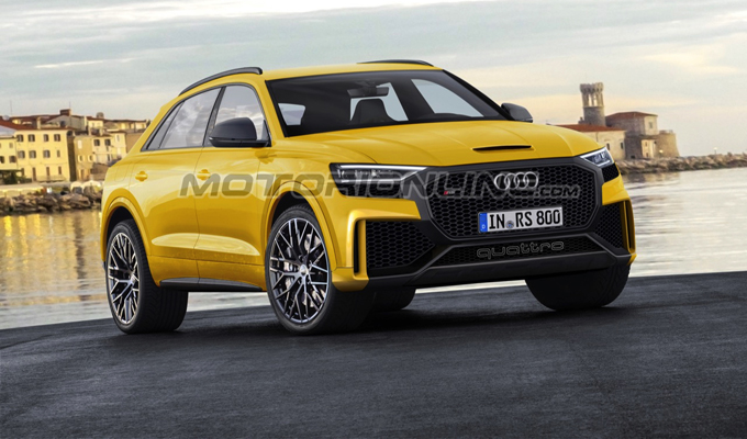 Audi RS Q8: un'idea prospettica di versatilità e potenza [RENDERING]