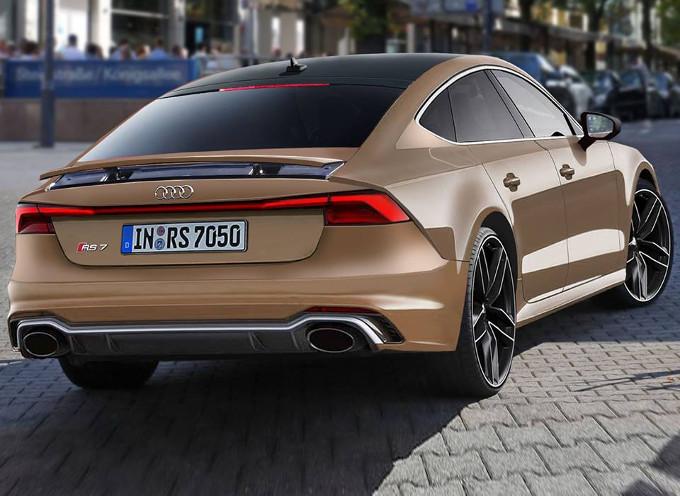 Audi Rs7 Sportback Cosi Potrebbe Apparire Il Futuro Modello Render