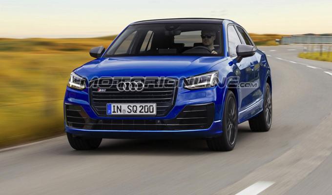 Audi SQ2: un'idea più spumeggiante del nuovo SUV compatto degli Anelli [RENDERING]
