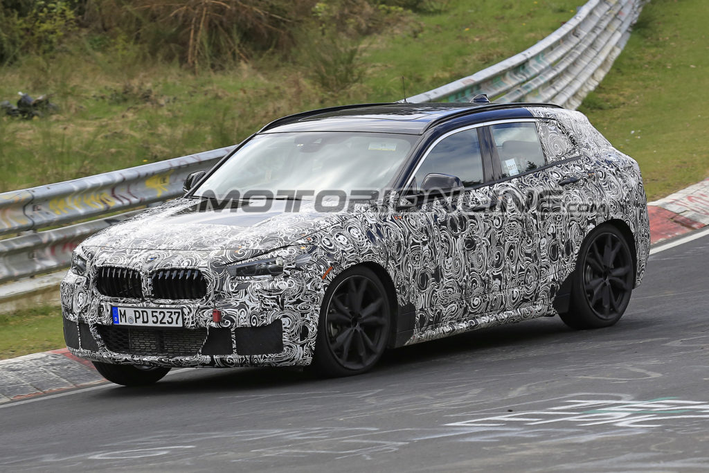BMW X2: test drive al Nurburgring [FOTO SPIA]