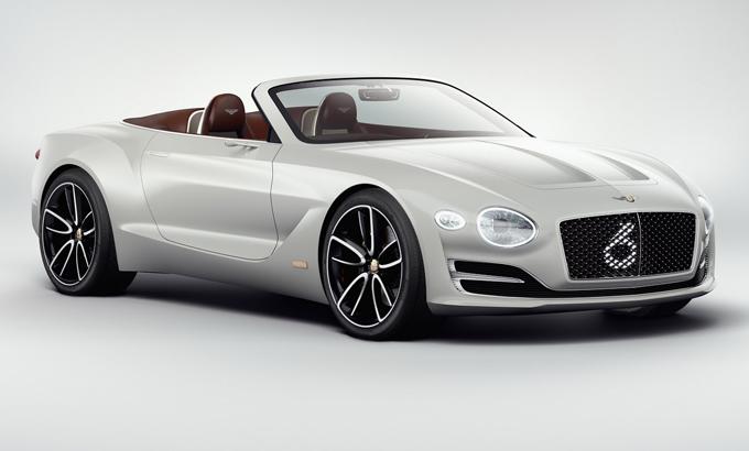 Bentley: ampio uso della tecnologia elettrica Porsche