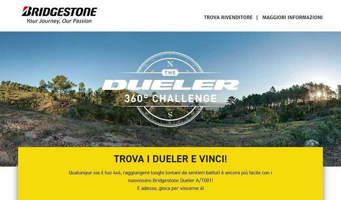 Bridgestone premia gli automobilisti con sconti e concorsi a premi