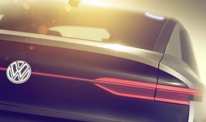 Volkswagen: la terza I.D. prima dell'unveiling a Shanghai [TEASER]