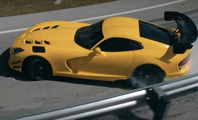 Dodge Viper ACR: l'esaltante commiato firmato Pennzoil [VIDEO]