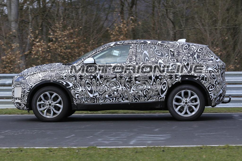 Jaguar E-Pace: test drive al Nurburgring [VIDEO SPIA]