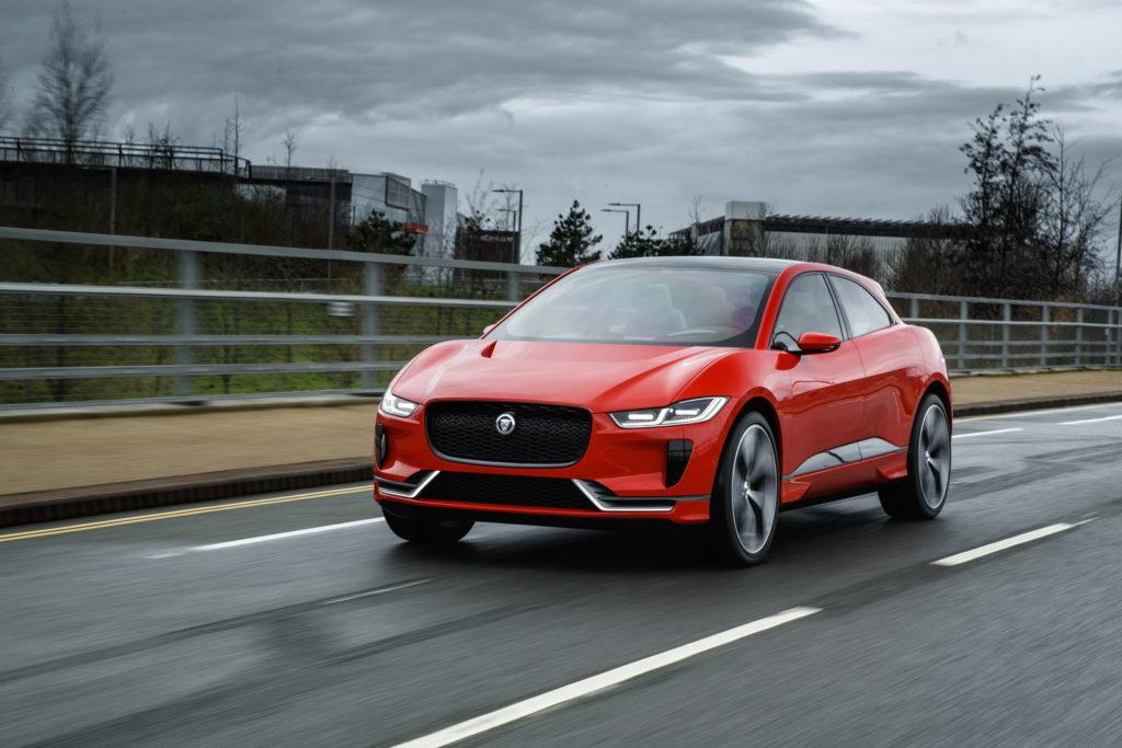 Jaguar I-Pace: la versione di serie sarà svelata al Salone di Francoforte 2017