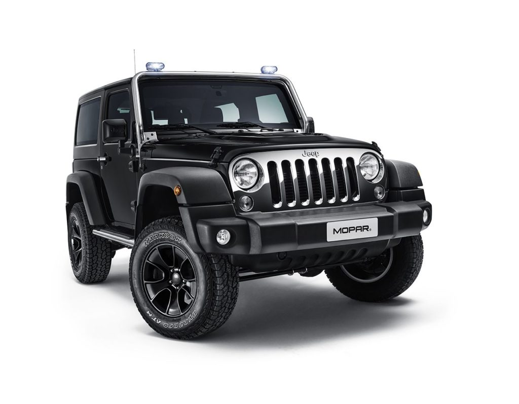 Jeep Wrangler Mopar One Pack