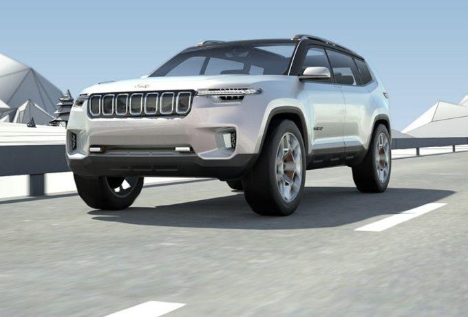 Jeep Yuntu Concept: le prime immagini del SUV ibrido plug-in [FOTO]