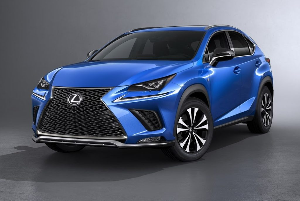 lexus nx my 2018 il crossover giapponese si rif il look foto. Black Bedroom Furniture Sets. Home Design Ideas