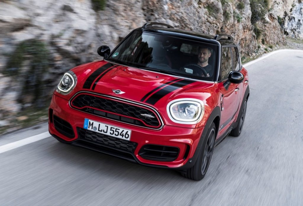 nuova mini countryman jcw sportivit british in azione foto e video. Black Bedroom Furniture Sets. Home Design Ideas