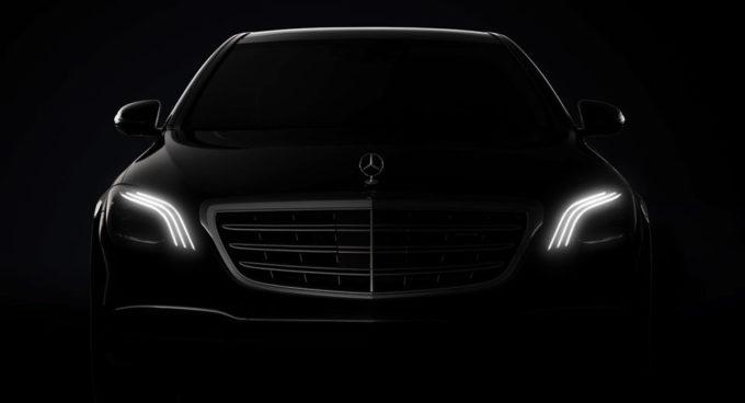 Mercedes Classe S MY 2018: nuove anticipazioni sul look esterno [TEASER]