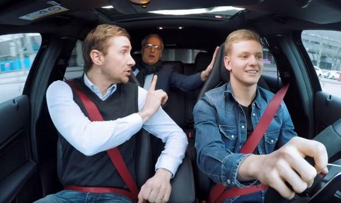 Mick Schumacher all'esame di guida [VIDEO]