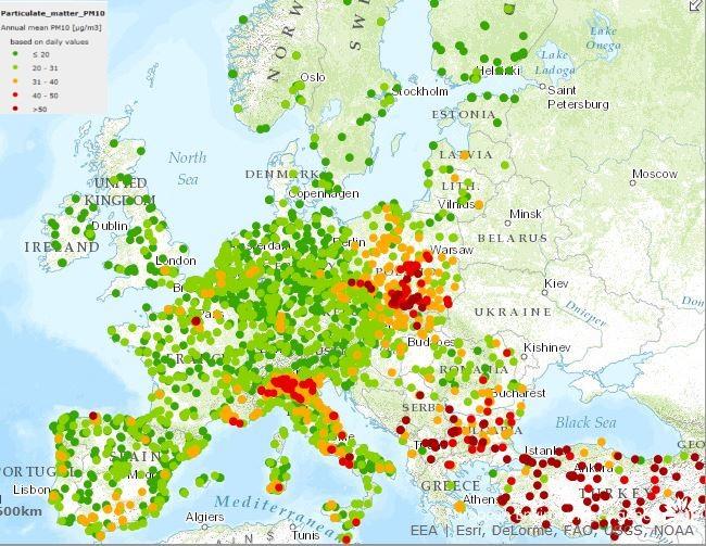 Inquinamento: l'Unione Europea punta il dito contro l'Italia