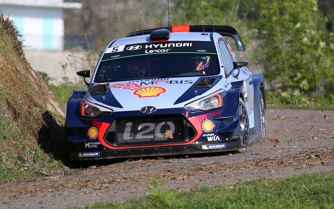 WRC, Tour de Corse: prima stagionale per Hyundai e Neuville