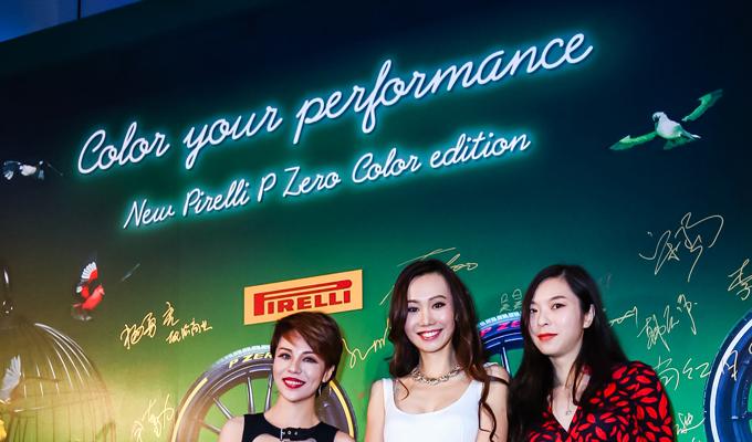 Pirelli P Zero Color Edition: il movimento prestazionale e colorato protagonista a Shanghai