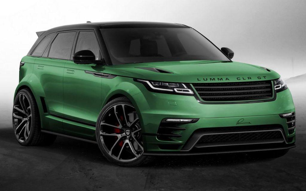 Range Rover Velar Protagonista Del Nuovo Tuning Di Lumma Design Foto