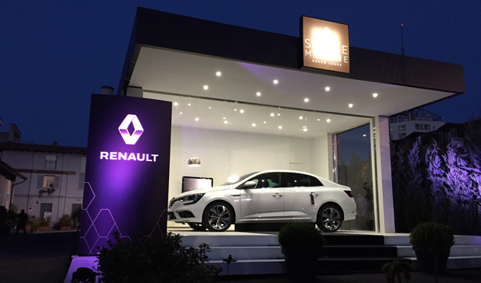 Renault SUITE MEGANE Grand Coupe - Design Week 2017
